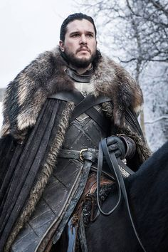 Jon from Game of Thrones Season 8 Photos: Farewell to Westeros  Kit Harington as Jon Snow.