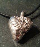Hjärta i silver