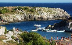 Porto Badisco - Otranto Puglia, Italy: Porto Badisco, Otranto - Sheltered Cove good Snorkelling. #Salento #Caletta #PortoBadisco