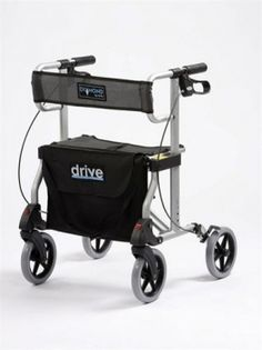 Rent a 4 wheeled rollator in Malta to aid decreased mobility for persons of all ages, but especially the elderly. Great for those who need some extra balance security.