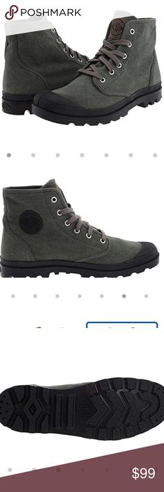 d5d4d5b71af7 🆕🎁Palladium Unisex  URBAN OUTFITTERS  Boots Brand new.they re a men s or  a women s The color is stone wash—they re a greenish gray like the top pics  ...
