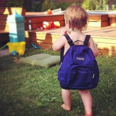 Too cute. Jansport mini backpack.