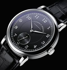 """A. Lange & Söhne 1815 '200th Anniversary F.A. Lange' Watch - see Ariel's writeup in Centurion Magazine """"Ferdinand Adolph Lange is considered by many to be the father of watchmaking in the region, where he discovered that the mine workers and machinists of Glashütte, the company's home town, proved a good foundation for producing timepieces..."""" then see more that we've written about A. Lange & Söhne watches: http://www.ablogtowatch.com/watch-brands/a-lange-sohne/"""
