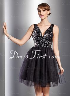 This dress would be perfect for a New Year's Eve party!
