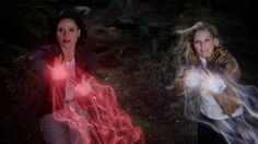 They may have had their differences, but it's best not to incur the wrath of Team #SwanQueen! #OnceIsFrozen - 4 * 5 Breaking Glass