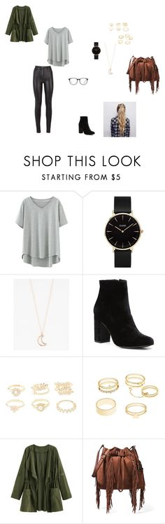 """""""Untitled #31"""" by evangalina on Polyvore featuring CLUSE, Full Tilt, Witchery, Charlotte Russe, Diane Von Furstenberg and GlassesUSA"""