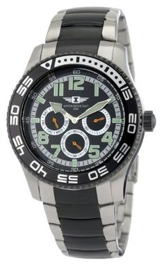 #Invicta #Men's 1326 Invicta II Chronograph Black Dial Two-Tone Stainless Steel #Watch       Nice dressed up simple watch       http://amzn.to/HevRVi
