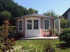 5-Eck Gartenhaus Liwa-28 | Garten