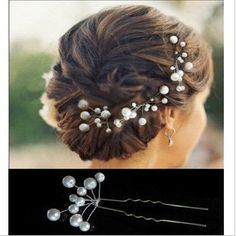 5pcs bridal hair pin ,wedding hair pin,Pearl Hair pins, Bridal hair Clips, Wedding Prom Pageant Bridsmaids