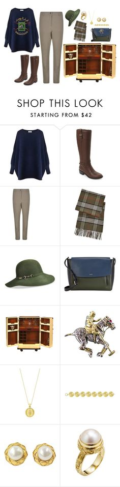 """""""Polo Club"""" by guliverlouise ❤ liked on Polyvore featuring Paisie, Cole Haan, Belstaff, Fraas, Betmar, DKNY, AM-Living, Theo Fennell, Chanel and Jane Bohan"""