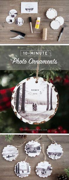 10 decoraciones para tu árbol de Navidad que puedes hacer tú misma - Mujer de 10