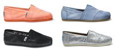TOMS. Love the coral!