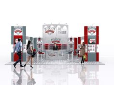 Great exhibition stand design for Smirnoff. For more information on the Prestige System, head to www.prestige-system.com