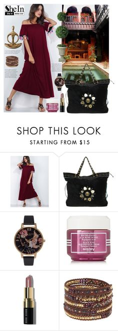 """Shein."" by natalyapril1976 on Polyvore featuring Marrakech, Gucci, Olivia Burton, Sisley, Bobbi Brown Cosmetics, Chan Luu and Improvements"