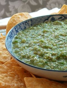3 easy ways to make tomatillo salsa verde! A delicious Mexican green salsa made with roasted tomatillos, chile peppers, lime juice, cilantro, and onion.