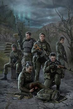S (Elite Military Ballistic Extradition and Recon Squad)wallpaper Post Apocalypse, Apocalypse Survival, Apocalypse Character, Character Art, Character Design, Post Apocalyptic Art, Panzer, Military Art, Cthulhu
