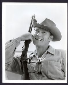 "chuck connors, ""the rifleman"""