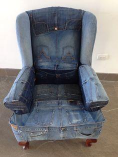 Denim chair