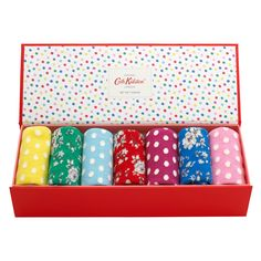 Little Spot Boxed Socks Pack of 7 | Nightwear | CathKidston