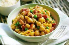 Gino D'Acampo's pasta with peas, ham and eggs recipe - goodtoknow
