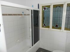 Shower over bath Shower Over Bath, Alcove, Bathtub, Bathroom, Home, Standing Bath, Washroom, Bathtubs, Bath Room