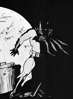 Batman by the one and only David Mazzucchelli