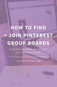 How To Find and Join Pinterest Group Boards by Fran