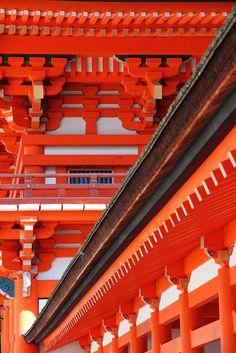 Located : Shimogamo Shrine, Kyoto.