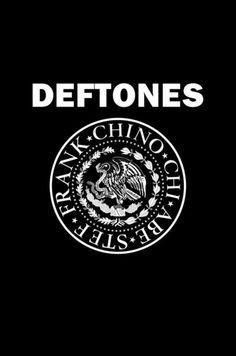Fuck Yes Deftones Deftones Tattoo, Nu Metal, Heavy Metal, Chino Moreno, Alternative Metal, Jazz Band, Love Band, Band Logos, Band Posters
