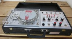 Binson Echorec Special Evo ~ refurbished version with metal tape reel instead of a rubber one and put in a new suitcase enclosure #electronicmusic #synthesizer #instruments #electroacoustic #sound #synthesis Tape Echo, Metal Tape, Audio Studio, Midi Keyboard, Drum Machine, Cool Gear, Pedalboard, Guitar Pedals, New Students