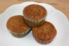 GLUTEN FREE MENU PLAN {APRIL 21ST-27TH} including these Gluten Free Banana Muffins