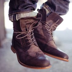 men styles, mens style, fashion styles, leather boots, mens fall fashion 2014, men fashion, street styles, men footwear, shoe