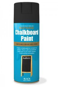Chalkboard Paint - Black Matt