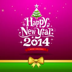 Merry Christmas and Happy New Year 2014 Greetings