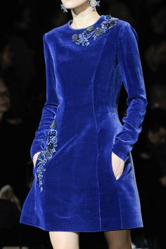 Alberta Ferretti at Milan Fashion Week Fall 2013 - StyleBistro