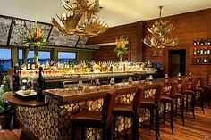 Lake Arrowhead Resort and Spa Dining.the bar area in Bin 189 Restaurant One of my favorite places for dining. Lake Arrowhead Resort, Mountain Vacations, Lodge Style, Bar Areas, Travel Memories, Hotel Spa, 4 Star Hotels, Resort Spa, Day Trip