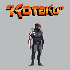 Pixel Video Game Characters for Kotaku on the Pantone Canvas Gallery