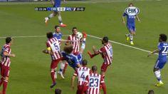 Gran chilena de David Luiz