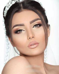 132 Vintage Hochzeit Make-up-Ideen sollten Sie jetzt Seite 35 versuchen - Макияж - Brautjungfern make-up Wedding Makeup For Brown Eyes, Best Wedding Makeup, Wedding Make Up, Bridal Makeup, Perfect Wedding, Chic Wedding, Glam Makeup, Makeup Tips, Eye Makeup