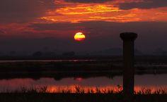 Cervia - Saline al tramonto