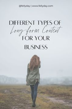 Why your business needs different types of long form content to reach all the platforms and different audiences! From blogs to vlogs and everything in between!