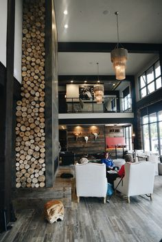 Firebrand Hotel in Whitefish Montana. Incredible design. A must stay.