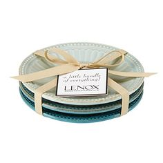 Lenox French Perle Groove Plates (Set of 3), Mini, Blues Lenox http://www.amazon.com/dp/B013LM1020/ref=cm_sw_r_pi_dp_BDxMwb0ZM47DP