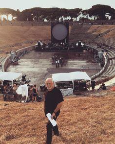 David Gilmour, Pompeii Photo Credit:Polly Samson(https://www.instagram.com/p/BHh4DlvBIT_/ ) Polly Samson e David Gilmour
