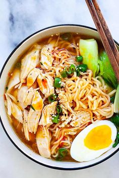 Instant Pot Ramen Recipe on Yummly. can find Ramen soup and more on our website.Instant Pot Ramen Recipe on Yummly. Cooker Recipes, Soup Recipes, Chicken Recipes, Ramen Noodle Recipes Chicken, Easy Ramen Recipes, Spicy Ramen Recipe, Thai Noodle Soups, Bok Choy Recipes, Ground Beef Recipes Easy