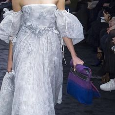 Details at Loewe #PFW _________________________________________________ Repost: @aishtiworld - Zooming into some colorful #Loewe accessories #Fall2017 #PFW #Aishti  #parisfashionweek #paris #loewe #fw17 #aw17 #catwalk #runway #whitedress #bag  via VOLT MAGAZINE OFFICIAL INSTAGRAM - Celebrity  Fashion  Haute Couture  Advertising  Culture  Beauty  Editorial Photography  Magazine Covers  Supermodels  Runway Models