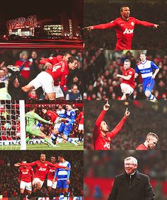 Manchester United 2-1 Reading