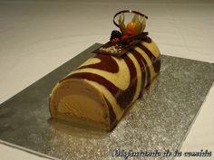 Tronco de Chocolate con interior de Mousse de Caramelo Especiada - Disfrutando de la comida