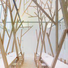 A Cantina canteen by Estudio Nomada, Santiago de Compostela – Spain » Retail Design Blog