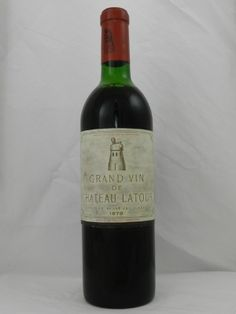 Chateau Latour 1970 Slightly Damaged #Bordeaux #France